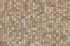 五颜六色的马赛克正方形瓦片 免版税图库摄影