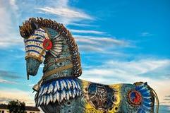 五颜六色的马 免版税库存照片