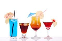 五颜六色的鸡尾酒 免版税图库摄影
