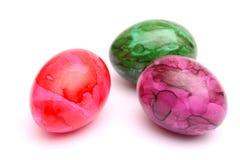 五颜六色的鸡蛋 免版税库存图片