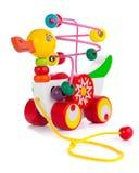 五颜六色的鸭子玩具 免版税库存照片