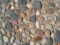 五颜六色的鹅卵石 库存照片
