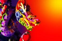 五颜六色的龙 免版税库存照片