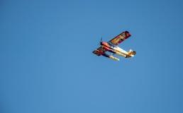五颜六色的水上飞机 免版税库存照片