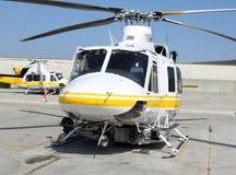 五颜六色的直升机 免版税库存照片