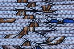 五颜六色的织品床单堆背景 库存照片