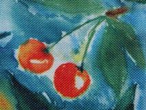 五颜六色的织品摘要 库存照片