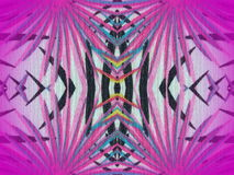 五颜六色的织品纹理 免版税库存照片