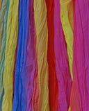 五颜六色的织品背景品种  库存照片