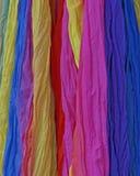 五颜六色的织品背景品种  库存图片