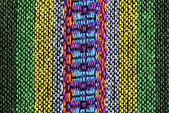 五颜六色的织品 免版税库存照片