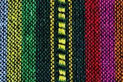 五颜六色的织品 图库摄影