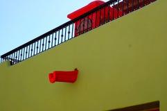五颜六色的巴哈家 库存图片