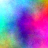 五颜六色的水彩-抽象背景 库存照片
