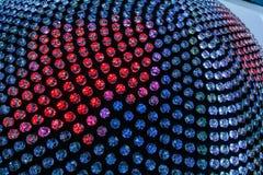 五颜六色的水晶 库存图片