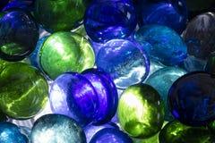 五颜六色的玻璃范围 免版税库存照片