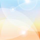 抽象轻的背景,透镜火光作用 免版税图库摄影