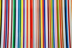 五颜六色的直线抽象背景 免版税库存图片
