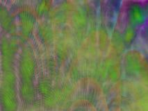 五颜六色的绿色红色蓝色踪影等离子摘要绘画 免版税库存图片