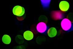 五颜六色的绿色,桃红色和蓝色抽象背景 免版税库存图片