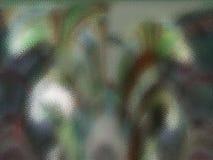 五颜六色的绿色玻璃II 库存例证