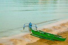 五颜六色的Banca小船 库存图片