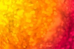 五颜六色的blured抽象bokeh backgound 免版税库存照片