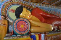 五颜六色的boeddha谎言 图库摄影
