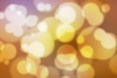 五颜六色的Bokeh背景五颜六色的被弄脏的墙纸 免版税库存照片