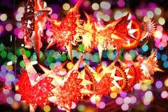 五颜六色的Diwali 库存照片