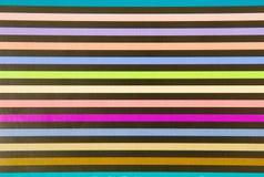 五颜六色的grunge纸张数据条 免版税库存照片