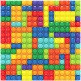 五颜六色的lego集合 库存照片