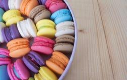 五颜六色的macarons 16 库存照片