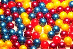 五颜六色的paintballs 免版税库存照片