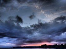 五颜六色的sky& x27; s 免版税库存图片