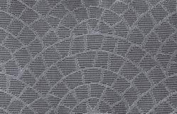 五颜六色的wale,枕头套纹理织品样式在黑口气可以 免版税库存图片