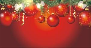五颜六色背景的圣诞节 免版税图库摄影