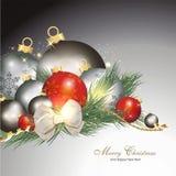 五颜六色背景的圣诞节 免版税库存照片