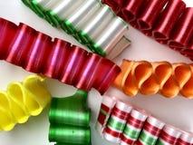 五颜六色,古板的丝带糖果 库存照片