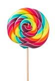 五颜六色,手工制造棒棒糖 免版税库存图片