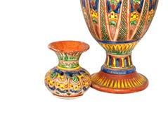 玛雅陶瓷 库存照片