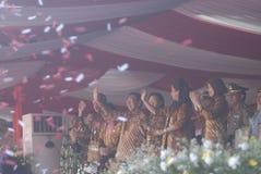 五年印度尼西亚世纪庞大救助计划丑闻 库存图片
