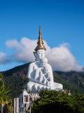 五Buddhas在Wat phasornkaew寺庙 免版税库存照片