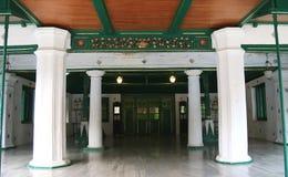 井里汶Kasepuhan宫殿 库存照片