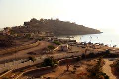 亚丁湾在也门 免版税库存图片