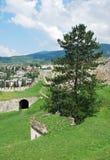 亚伊采堡垒 库存照片