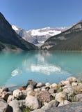 亚伯大加拿大Lake Louise 免版税库存图片
