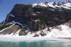 亚伯大banff加拿大挂接国家公园rundle 免版税库存图片