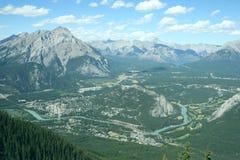 亚伯大banff加拿大 库存照片
