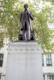 亚伯拉罕・林肯总统雕象  库存图片
